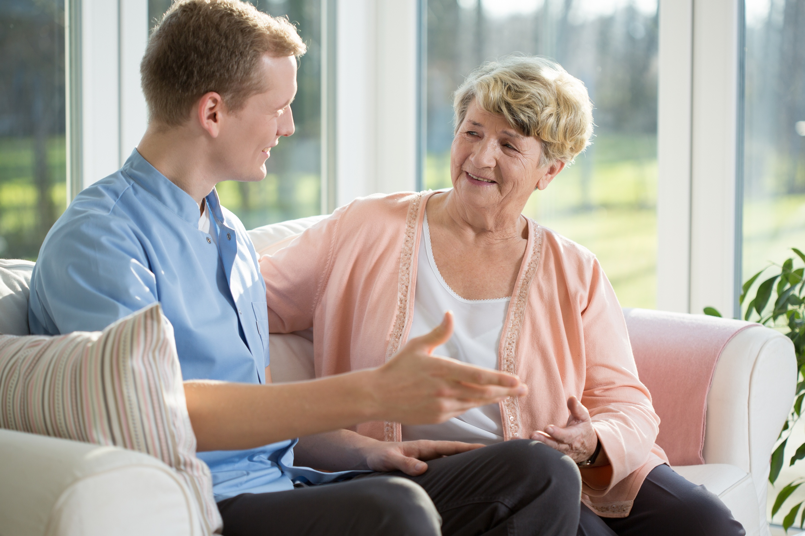 Professional Caregiver for Older Adults - Part III: Professional Boundaries